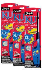 Ncaa Kansas Jayhawks Licensed Scripto Multipurpose Utility Lighter 1-3 Pack