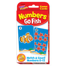 Trend Enterprises Inc. Challenge Cards Numbers Go Fish