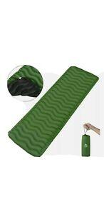 Outivity Camping Mat,Ultralight Sleeping Pump Up Airbed