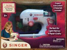 Singer Zig Zag Chainstitch Toy Sewing Machine Girls 8+ Seamstress BRAND NEW 2014