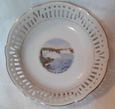 Vintage Schwarzenhammer Bavaria Niagara Falls Souvenir Bowl