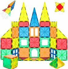 Magnetic Blocks, 40 PCS Magnetic Tiles Building Blocks Toys Set for Kids Age 3+