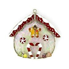 Gingerbread House Stained Glass Switchables Nightlight Cover; Ornament: Suncatch