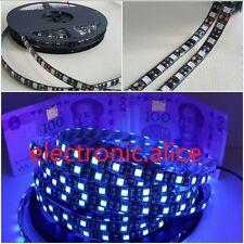 1-5M DC12V 5050 UV Ultraviolet purple waterproof 60led/m Strip lamp black light