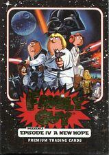 Inkworks Family Guy Star Wars A New Hope Complete 50 Card Base Set