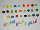 Lot lego plaque plate ronde round de 1x1 ref 4073 choose color