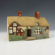 Antique Goss Crested China - Ann Hathaway's Cottage - Pastille Burner Figure