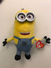 "Ty Original Beanie Babies TIM in Overalls Minions Despicable Me 3 6"" Plush - NWT"