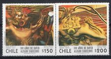CHILE 1997 STAMP # 1873/4 MNH ART MURAL PAINTER SIQUEIROS