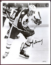 1979-80 NHL Toronto Maple Leafs TEAM issue B&W 8x10 PHOTO PICTURE Dan Maloney