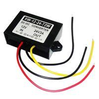 12V Step Up To 24V Voltage Booster Power 72W 3A DC -DC Converter Regulator  #ur
