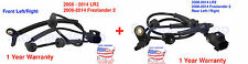 New ABS Speed Sensor for 08-14 Land Rover LR2 Freelander 2, Front and Rear set