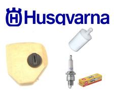 HUSQVARNA 570 AT CHAINSAW SERVICE KIT AIR FILTER FUEL FILTER SPARK PLUG GENUINE