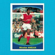 ANELKA - ROOKIE STICKER FOOTBALL PANINI SUPER FOOT 1997-98 - ARSENAL - VERY RARE