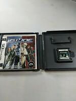 GI JOE: The Rise of Cobra (Nintendo DS, 2009) USA Cartridge and Manual Only