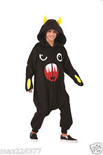 new sig Funsie Child halloween Costume so so happy Black Medium 8-10 boy girl