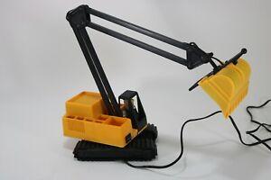 Fred Flintstone Excavator/Backhoe Construction Equipment Swing Arm Desk Lamp