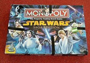 MONOPOLY Star Wars SAGA EDITION - Complete.