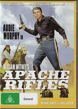 APACHE RIFLES - WILLIAM WHITNEY'S - AUDIE MURPHY - NEW DVD FREE LOCAL POST