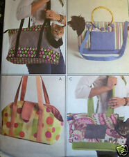 SEWING PATTERN McCalls 5151 CAT DOG PET CARRIER TOTE