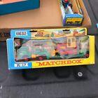 Vintage Lesney Matchbox King Size No K-17 Dyson Low-Loader + Case Tractor w Box