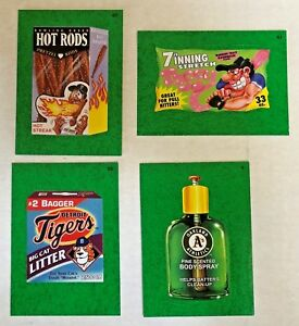 2016 Topps MLB Wacky Packages Grass Border Insert Parallel card You Pick