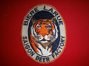 BIERE LARUE SAIGON Beer Factory Circa 1960s Vietnam War Patch