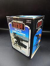 SEALED vintage Star Wars TRI-POD LASER CANNON Hoth accessory weapon ESB ROTJ mib