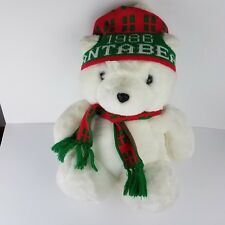 1986 Santa Bear Dayton Hudson Plush Toy Stuffed Animal Vintage Hudsons Euc