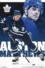 AUSTON MATTHEWS - TORONTO MAPLE LEAFS POSTER - 22x34 - NHL HOCKEY 16388