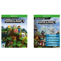Minecraft Full-Game and Explorers Pack - Xbox One Download Key Cards