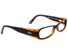 903735cfe0a Dolce   Gabbana Eyeglasses D G 1171 990 Black Brown Rectangular Frame ...
