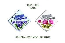 Togo 1966 Uno/Onu Health Org. S/S Mnh Medicine, Flowers, Roses