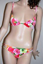 LA PERLA MARVEL Set Bikini Bügel BH Gr. 3 = 40  leichte Schale Hawaii FM-MAV-51