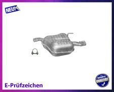 Endschalldämpfer Opel Vectra C / GTS 1.6 1.8 Auspuff mit Chromblende Schelle