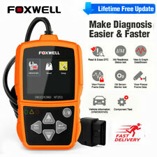 Foxwell OBD2 Automotive Scanner Code Reader Engine Light Check EVAP Diagnostic