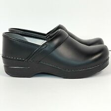 Dansko Professional Clogs Women's Size US 6.5 - 7 / EUR 37 Black Leather
