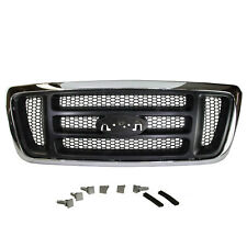 NEW OEM 2005-2008 Ford F150 Radiator Grille King Ranch Chrome and Paint to Match