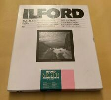 "New ILFORD MGFB Multigrade FB Classic 8x10"" Glossy Photographic Paper 25 Sheets"
