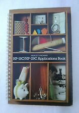Vintage 1977 Hewlett Packard HP-19C/HP-29C Calculator Applications Book Manual