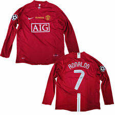 Cristiano Ronaldo Manchester United Jersey 2008 FINAL UCL S M L XL XXL Soccer US