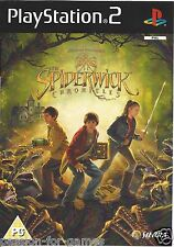 THE SPIDERWICK CHRONICLES for Playstation 2 PS2 - wit box & manual - PAL