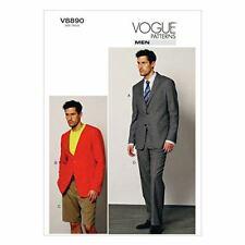 Vogue Sewing Pattern 8890 Mens jacket Shorts Pants Size 34-40