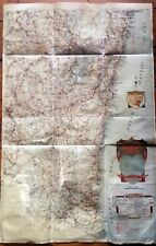 Vintage 1930's Australian NSW NEW SOUTH WALES Fishing Rivers Map chart Sydney