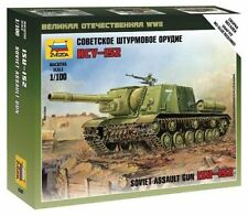 Zvezda Art of Tactic Wargames soviético Assault Gun isu-152 1:100 Kit