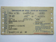 1938 Chevrolet Town Sedan Barn Find Historical Document