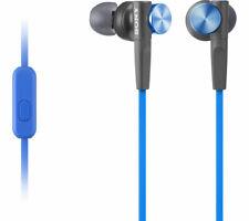 SONY MDR-XB50AP IN-EAR SMARTPHONE HEADPHONES EARPHONES MICROPHONE & REMOTE BLUE