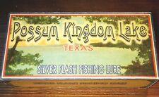 Possum Kingdom Lake Texas fishing lure boxes excellent lake house decorations