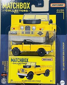 Matchbox Collectors 2021 '65 Land Rover gen ii Pickup (CRAZY SALE)