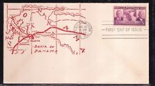 SCOTT 856 PANAMA CANAL FIRST DAY COVER FDC PLANTY 36